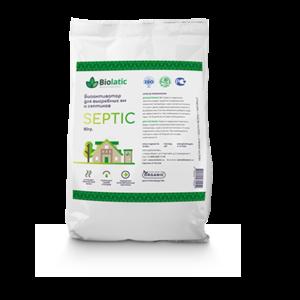 Натуральный биоактиватор для выгребных ям и септиков Biolatic–Septic (концентрат бактерий)