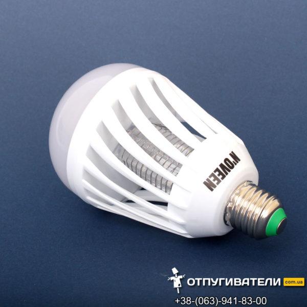 LED лампочка от комаров в стандартный цоколь Noveen IKN803