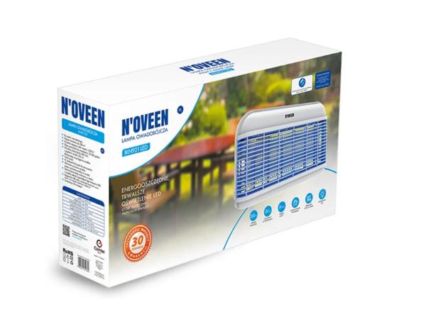 Светодиодная инсектицидная лампа IKN921 LED 8 Вт в коробке