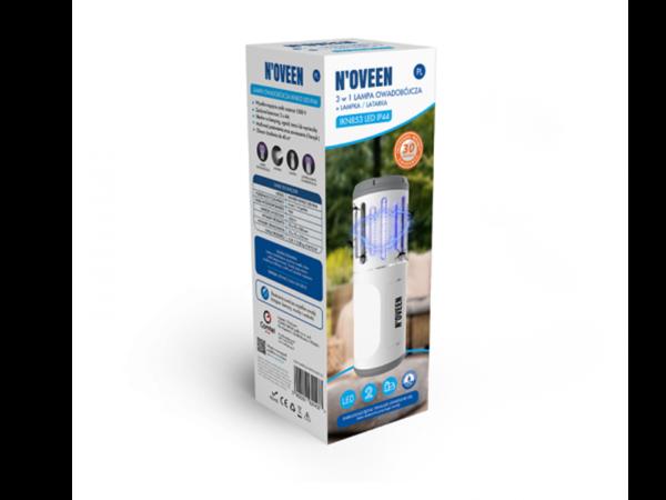 Портативный фонарь от насекомых на батарейках Noveen IKN853 LED IP44 в коробке