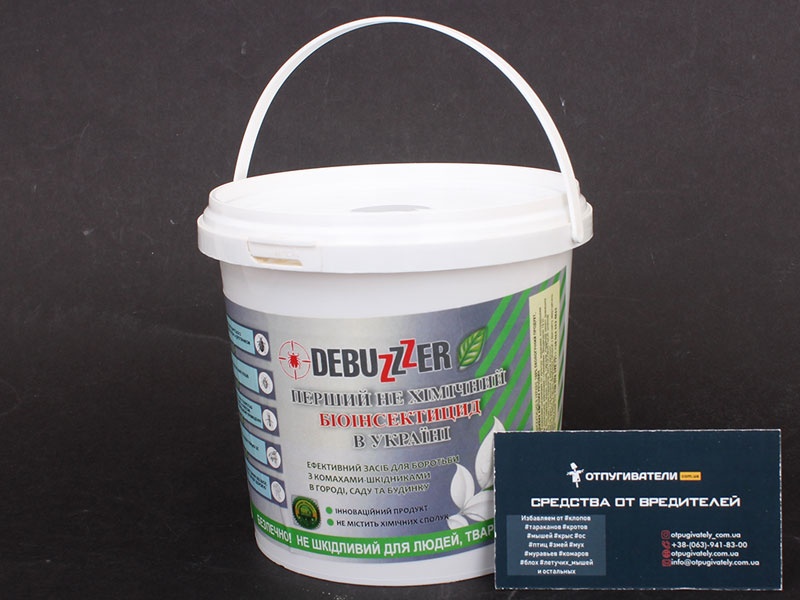 Биоинсектицид на основе диатомита Debuzer 1 л