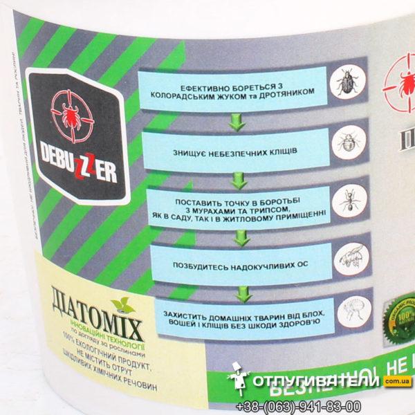 Преимущества биоинсектицида Дэбузер