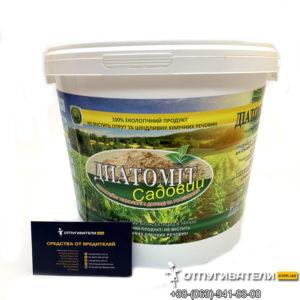 Диатомит садовый от вредителей «Диатомix» - не химический, универсальный биоинсектицид (5,5 л)