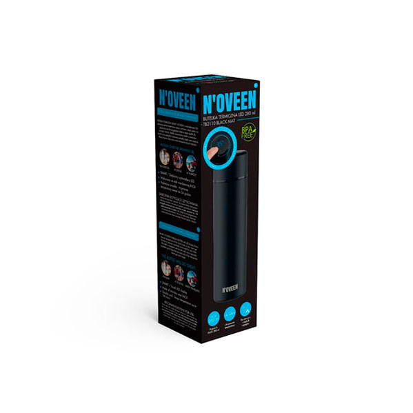 Форма упаковки термобутылки Noveen TB2110