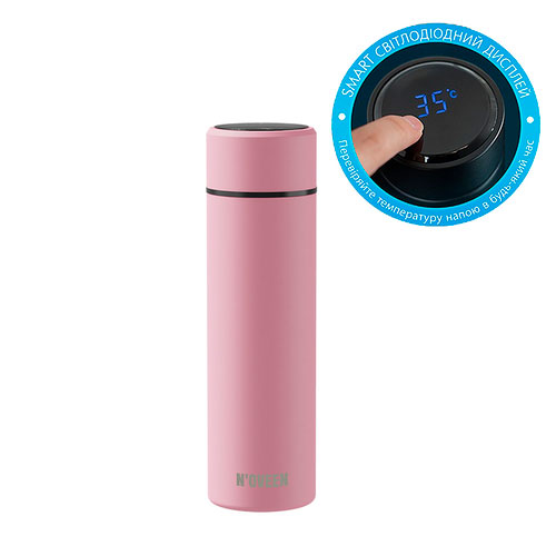 Smart термобутылка с дисплеем Noveen TB2116