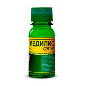 """Инсектицидное средство """"Медилис-СУПЕР"""" (педикулицид) от вшей и других насекомых (50 мл)"""