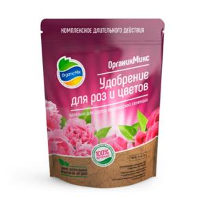 Удобрение для роз и цветов от Органик Микс